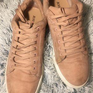 Just Fab Blush Sneaker